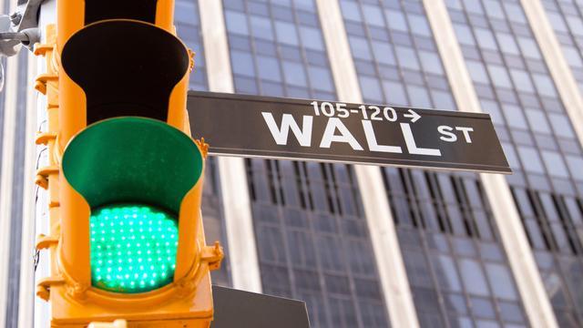 Ook rode koersborden op Wall Street