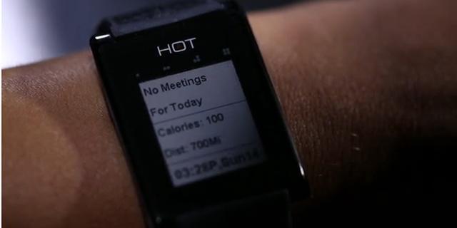Smartwatch laat je bellen met je hand