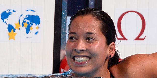 Kromowidjojo zwemt Nederlands record op 100 vrij in Berlijn