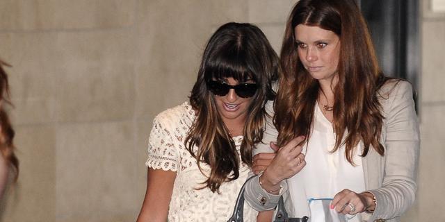 'Lea Michele vindt leven zonder Cory Monteith pijnlijk'