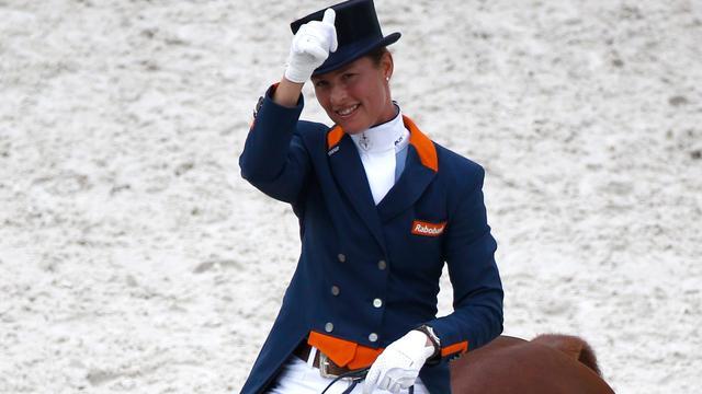 Amazone Cornelissen geeft op vanwege ziekte paard