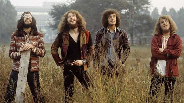 Britse rockband Jethro Tull geeft concert in Carré