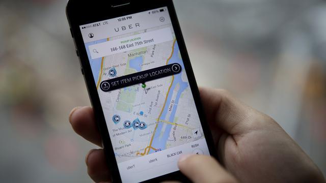 Uber Nederland krijgt boete van 10.000 euro om illegale dienst