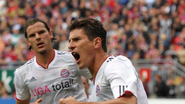 Bayern München koploper, HSV onderaan in Bundesliga