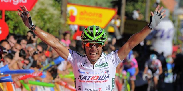 Rodríguez wint achtste etappe Vuelta