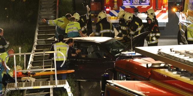 Zeven gewonden door ongeval op A2