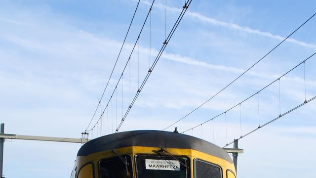 Trein ontruimd na rookontwikkeling