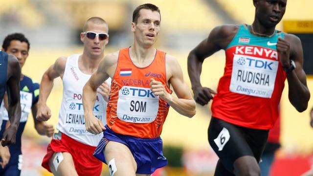 Som naar halve finale op 800 meter bij WK atletiek