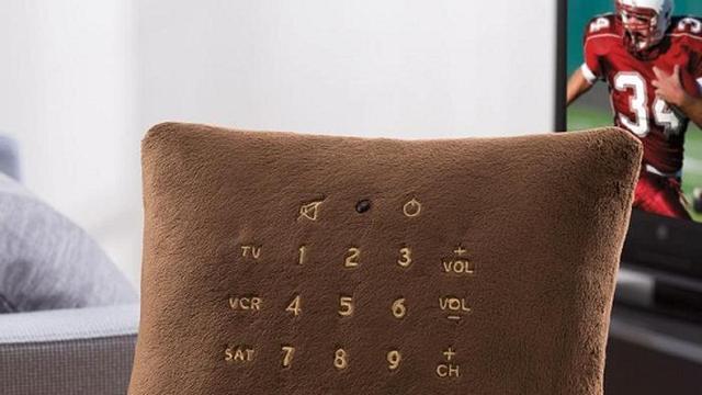 Brookstone steekt afstandsbediening in kussenvorm