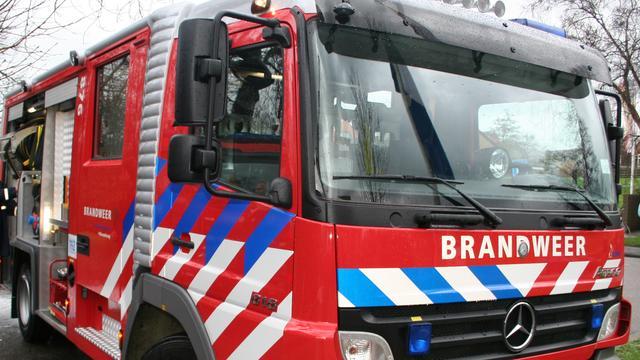 Brand in duingebied bij Overveen