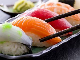 Sushi, tangofilm en duiken