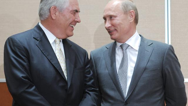 Strategisch partnerschap Exxon met Rosneft