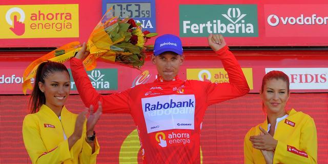 Mollema verovert leiderstrui in Ronde van Spanje