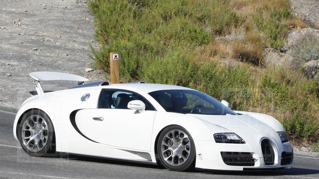 Bugatti test ultieme Veyron