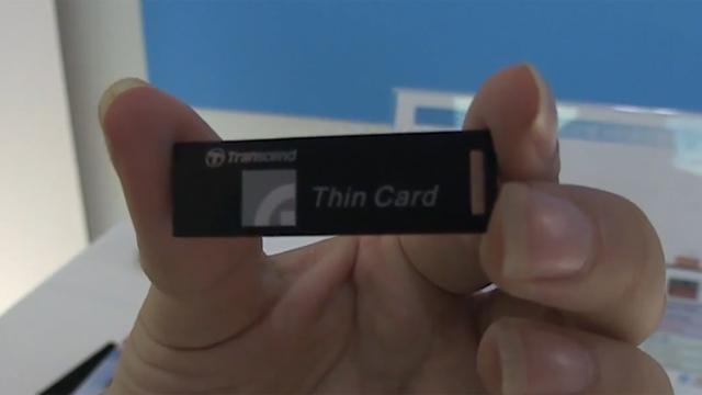 ITRI en Transcend proppen 2TB op usb-stick