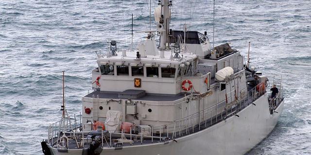 Mariniers beveiligen schepen tegen piraten