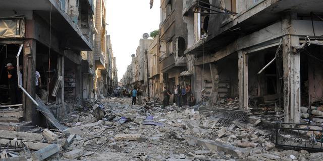 Huis VS steunt training rebellen Syrië