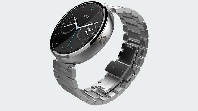 Motorola begint verkoop metalen horlogeband Moto 360