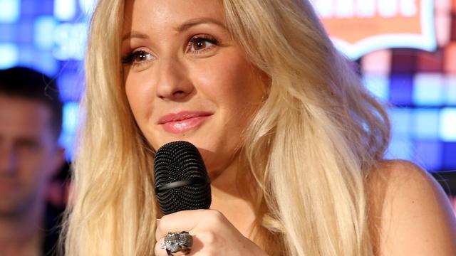 Ellie Goulding klimt naar tweede plek Mega Top 50