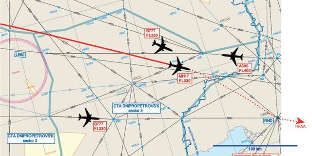 Eurocontrol ontkent aandringen op sluiting Oekraïens luchtruim