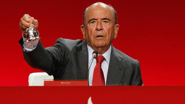 Topman Banco Santander overleden