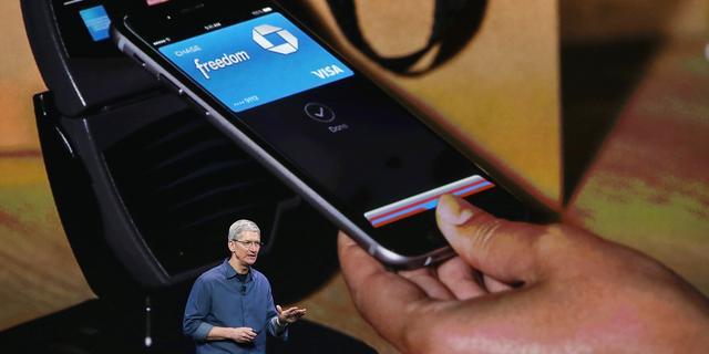 'Betaaldienst Apple Pay deze week van start in VS'