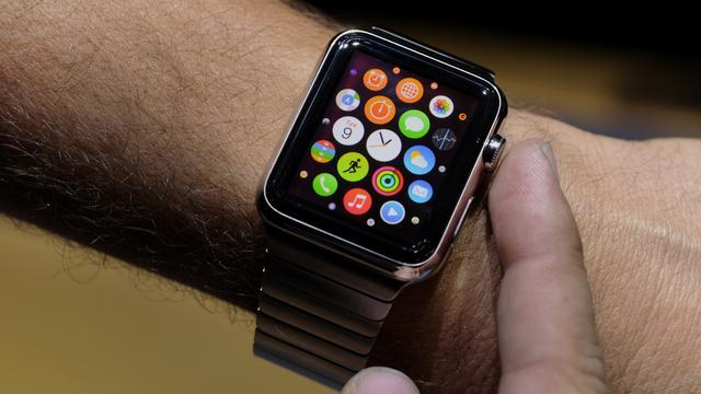 'Apple Watch heeft resolutie van 240 bij 320 pixels'