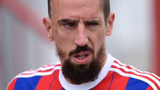 Ribéry hoopt voor winterstop rentree te maken bij Bayern