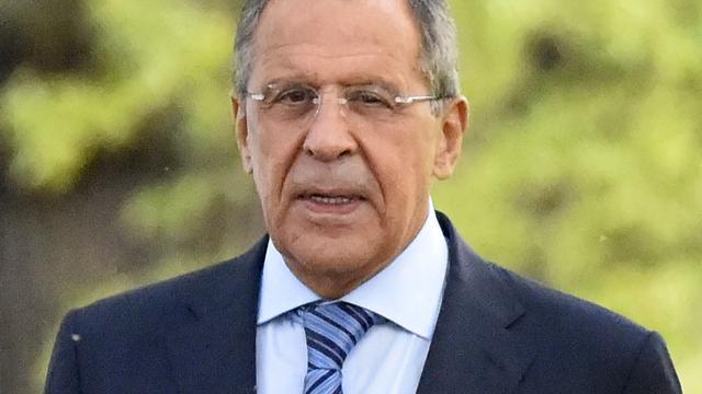 Lavrov ziet sancties als middel om Russisch bewind omver te werpen