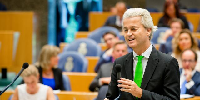 Justitie geeft negatief advies over schadeclaims tegen Wilders
