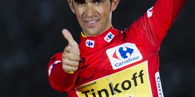 Contador verlengt contract bij Tinkoff-Saxo tot eind 2016