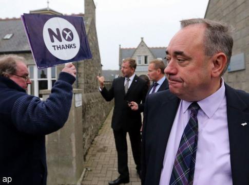 Ex-premier Schotland aangeklaagd voor seksueel wangedrag