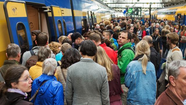Minder treinen tussen Rotterdam en Den Haag