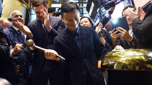 Forse omzetgroei en nieuwe topman bij Alibaba