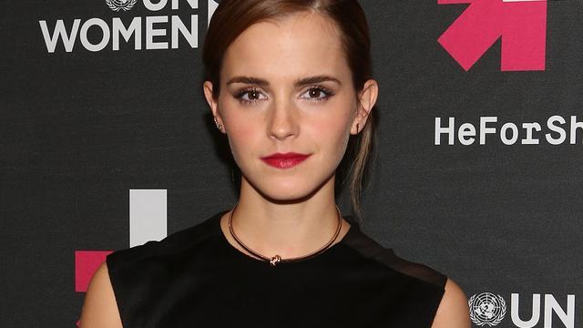 Emma Watson ontkent relatie met prins Harry