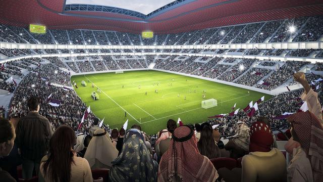 Beurs Qatar omlaag na opstappen Blatter