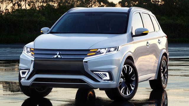 Concept-S blikt vooruit op nieuwe Mitsubishi Outlander