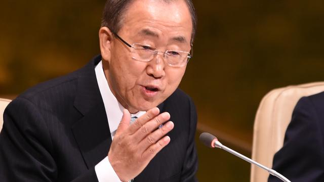 Palestina volgens Ban Ki-moon vanaf april lid van Internationaal Strafhof
