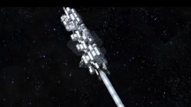 Japans bedrijf belooft ruimtelift in 2050