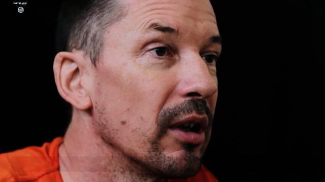 Gegijzelde Brit John Cantlie laakt verzet Syrië in video IS