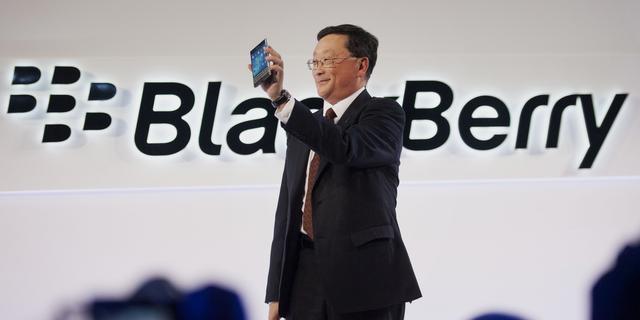Blackberry heeft crisis volgens directeur overleefd