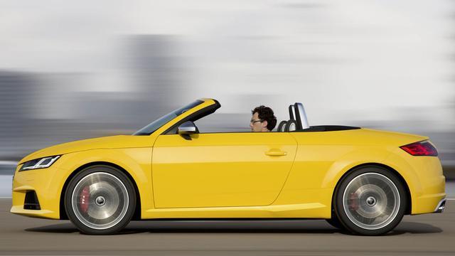 Audi onthult nieuwe TT Roadster