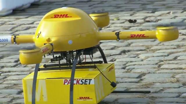 DHL bezorgt post met autonome drone op waddeneiland