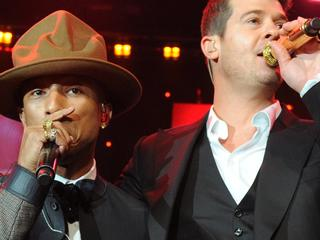 Pharrell Williams en Robin Thicke betalen familie Marvin Gaye