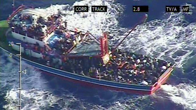 'Vierhonderd bootvluchtelingen verdronken in Middellandse Zee'