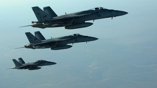 'Luchtaanvallen op IS eisten al 865 levens'
