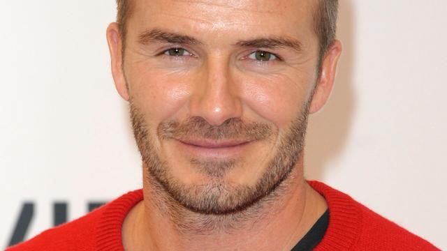 David Beckham kondigt eigen mannenmodelabel aan