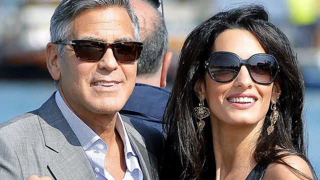 George Clooney nu ook voor de wet getrouwd