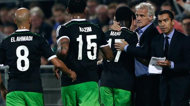Feyenoord boekt na vier nederlagen ruime zege bij Go Ahead