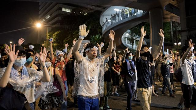 Taiwan waarschuwt Peking over protest